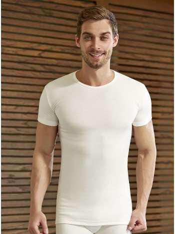 Eros ES 1454 Erkek Termal O Yaka Kısa Kol T-Shirt
