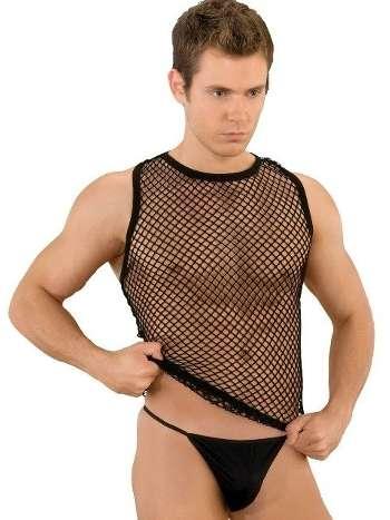 La Blinque Erotik Erkek Atlet &String Takım 082