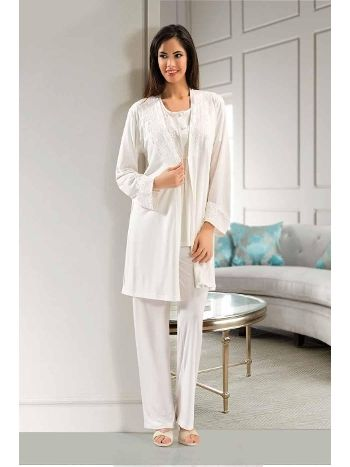 Fantazi 3 lü Pijama Takım XSES 4001