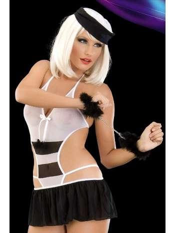 La Blinque Fantazi Hırsız Kostüm 2060
