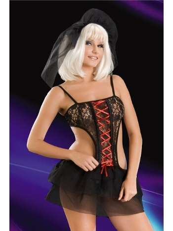 La Blinque Fantazi Kostüm Gotik Gelin 2067