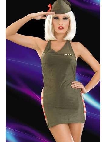La Blinque Fantezi Asker Kostüm 2047