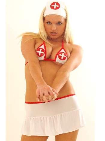 La Blinque Fantezi Hemşire Kostüm 169