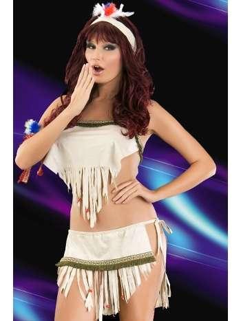 La Blinque Fantezi Kızıl Derili Kostüm 2057