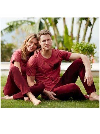 Feyza 3420 Eşli Kısa Kol Üçlü Erkek Pijama