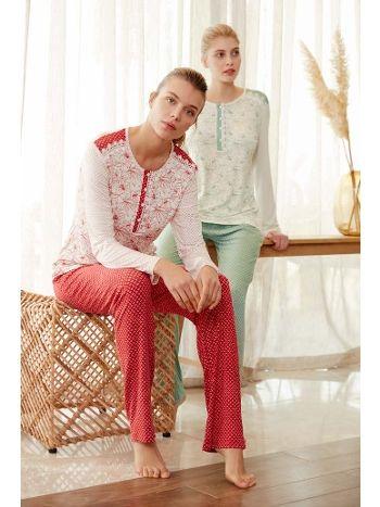 Feyza 3425B Uzun Kol Bayan Battal Pijama