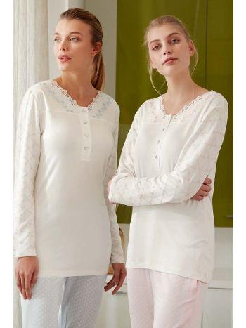 Feyza 3449B Klasik Battal Pijama Tkm