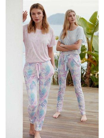 Feyza 3464 Kısa Kol Pijama Takımı
