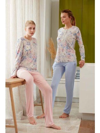 Feyza 3479B Klasik Battal Pijama Takımı