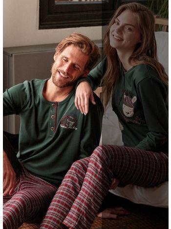 Feyza Erkek Pijama Takım 3370