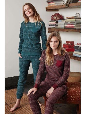 Feyza Kadın Pijama Takım 3322