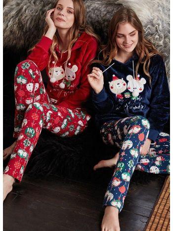Feyza Polar Pijama Takım 3371