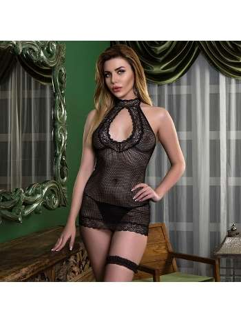 File Babydoll String Takım Gallipoli 8393