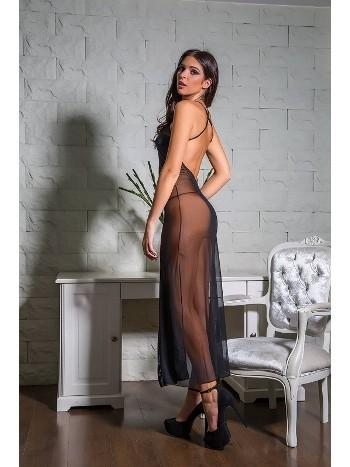 Mikro Tül Elbise String Takım Gallipoli 8162