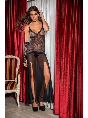 Gallipoli Tül Elbise String Takım 8342