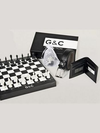 Erkek Kemer Cüzdan Set - G&c Collection 510