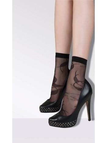 Daymod Gold Desenli Soket Çorap