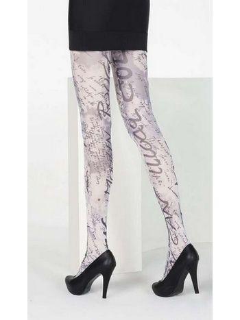 Daymod Grafiti Desenli Külotlu Çorap