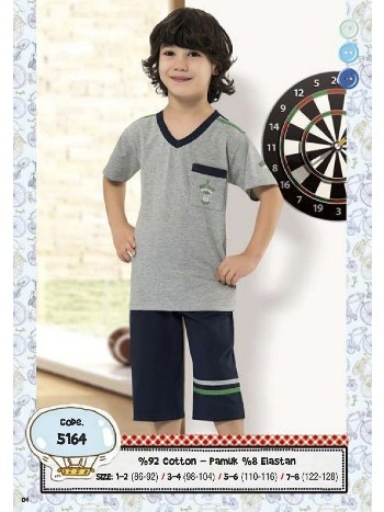 Hmd Erkek Çocuk Kapri Takım 5164