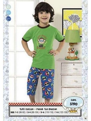 Hmd Erkek Çocuk Kapri Takım 5190