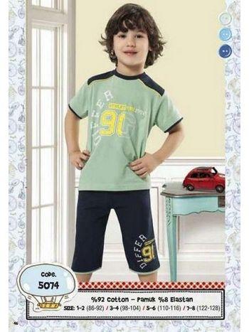 Hmd Erkek Çocuk Kapri Takımı 5074