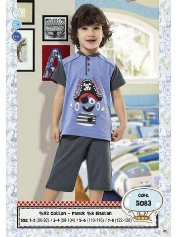 Hmd Erkek Çocuk Korsan Baskılı Kapri Takımı 5083