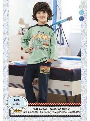 Hmd Erkek Çocuk Pijama Takımı 5145