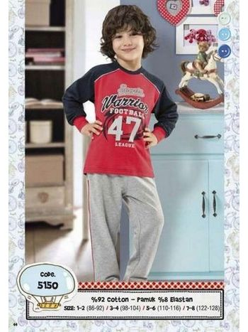 Hmd Erkek Çocuk Pijama Takımı 5150