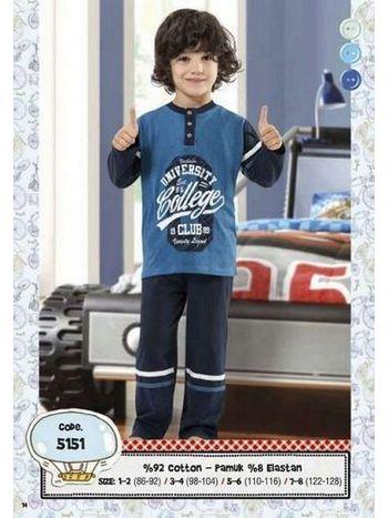 Hmd Erkek Çocuk Pijama Takımı 5151