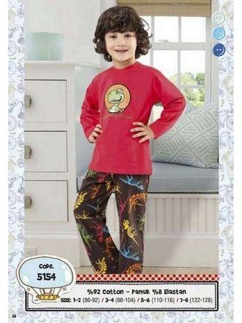 Hmd Erkek Çocuk Pijama Takımı 5154