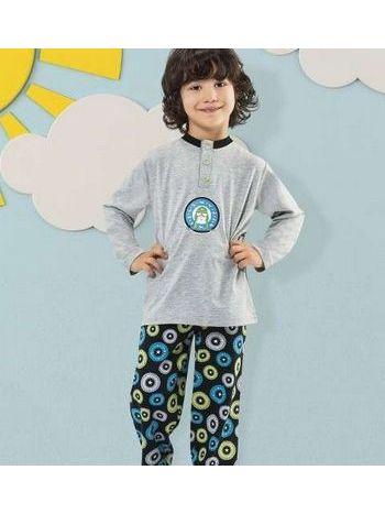 Hmd Erkek Çocuk Pijama Takımı 5155