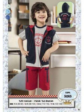 Hmd Erkek Çocuk Üçlü Takım 5085