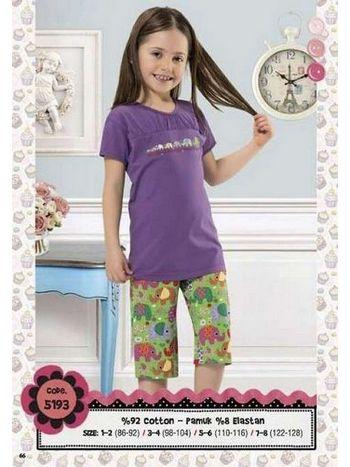 Hmd Kız Çocuk Kapri Takım 5193