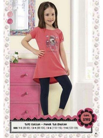 Hmd Kız Çocuk Kapri Takım 5195