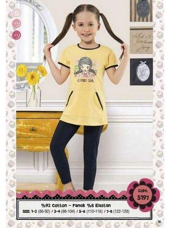 Hmd Kız Çocuk Kapri Takım 5197