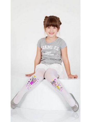 Daymod İkimiz Desenli Külotlu Çocuk Çorabı