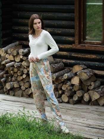 Pijama Takımı Hırkalı 3 Lü Takım Miss Loren 1415