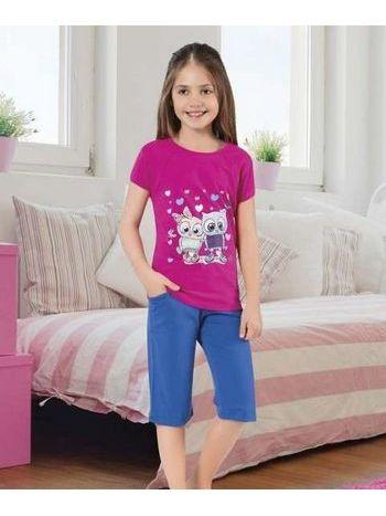 Kalipli Kız Çocuk Kapri Takım HMD 6053