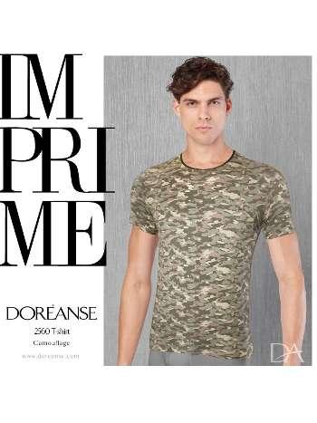 Kamuflaj Erkek T-Shirt Doreanse 2560