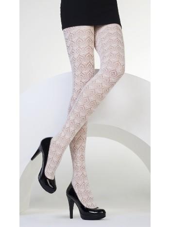Daymod Karen Desenli Külotlu Çorap