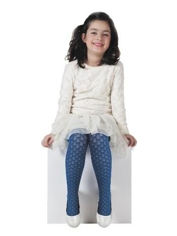 Daymod Karya Desenli Külotlu Çocuk Çorabı