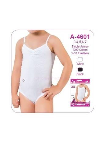 Kız Çocuk Full Lycralı Body Öztaş A4601