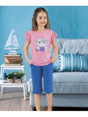 Kız Çocuk Kapri Takım HMD 6052