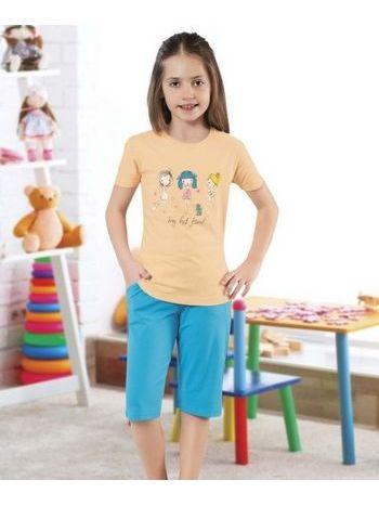 Kız Çocuk Kapri Takım HMD 6060