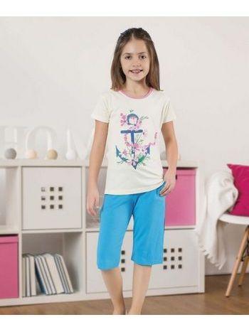 Kız Çocuk Kapri Takım HMD 6064