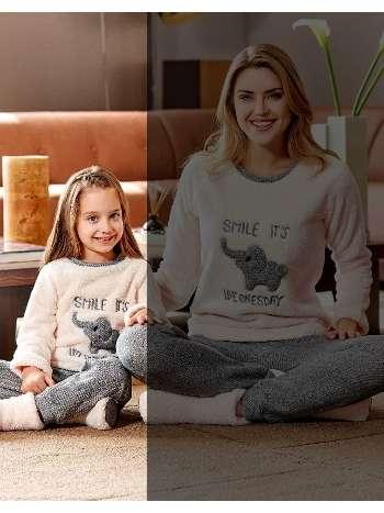 Kız Çocuk Pijama Takım Dowry KIDS-03