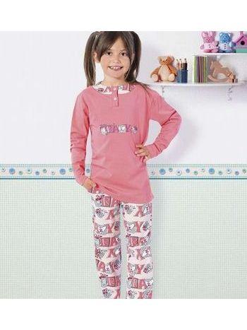 Kız Çocuk Pijama Takım Hmd 5270