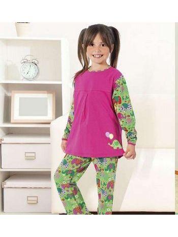 Kız Çocuk Pijama Takım Hmd 5273