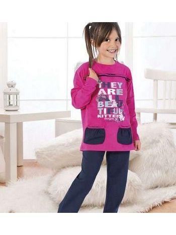 Kız Çocuk Pijama Takım Hmd 5274