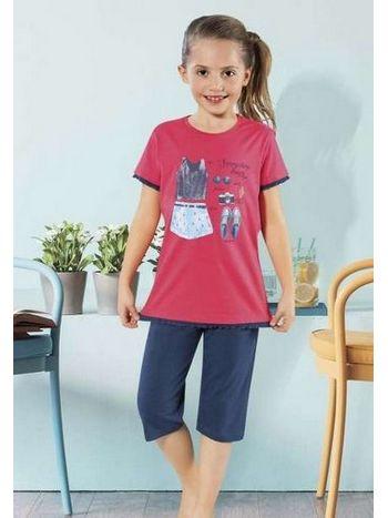 Kız Çocuk Pijama Takım HMD 6022